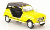 Renault 4L   plein air jaune geschlossen 1968 MCW 1/43