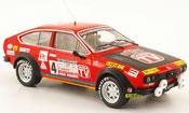 Alfa Romeo GTV 2.0 no.4 guida tv rally em 1980