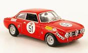 Alfa Romeo Giulia miniature GTAm no.51 dini dona spa 1973
