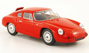 Porsche Abarth   rouge Strassenversion 1960 Best 1/43