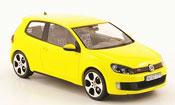 Volkswagen Golf VI GTI  yellow Schuco