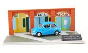 500 MyCar bleu Francis Lombardi Diorama