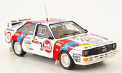 Audi Quattro No.3 Duez Cantonati Metz Rallye 1985