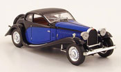 Bugatti 50 type profilee blue black 1939