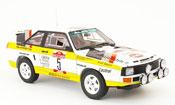 Audi Sport Quattro miniature no.5 rallye san remo 1984
