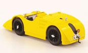 Bugatti 32 miniature tank jaune contessa elizabeth junek (cz) 1923