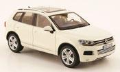 Volkswagen Touareg miniature ii blanche 2010