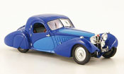 Bugatti 57 SC miniature bleu bleu corsica 1938