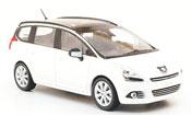 Peugeot 5008 miniature blanche 2009