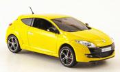 Renault Megane miniature Sport jaune 2009