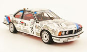 Bmw 635 CSI m gruppe a no. 11 24h spa 1986