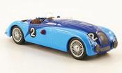 Bugatti 57 G no.2 wimille benoist 24h le mans 1937