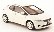 Honda Civic Type R miniature blanche RHD