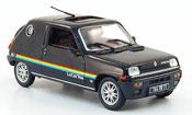 Renault 5   le car van noire 1979 Nostalgie 1/43