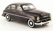 Ford Vedette miniature bleu 1950