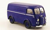 Miniature Peugeot D3A   kasten bleu