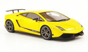 Lamborghini Gallardo LP570-4 miniature superleggera jaune 2010