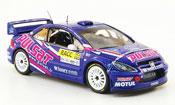 Peugeot 307 miniature WRC no.66 pulsat racc rallye catalunya 2009