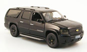 Chevrolet Suburban black Blackout Edition 2009 2010