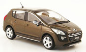 Peugeot 3008 miniature marron 2009
