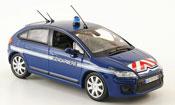 Citroen C4   gendarmerie police 2008 Norev