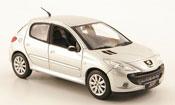 Peugeot 207 miniature grise metallisee 5 portes 2008