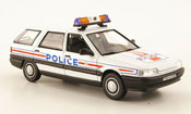 Renault 21 miniature Nevada police nationale police frankreich 1989