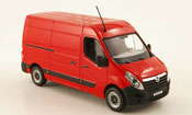 Miniature Opel Movano   kasten rouge 2010