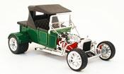 Ford Hot Rod miniature t-bucket verte geschlossen 1923