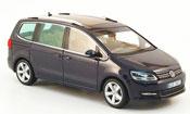 Volkswagen Sharan   ii blue 2010 Minichamps