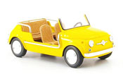 Fiat 500 Jolly yellow 1961