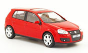 Volkswagen Golf V GTI  red Cararama