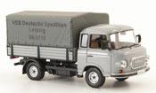 Miniature Barkas B 1000   Pritsche VEB Deutsche Spedition Leipzig