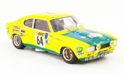 Miniature Tour de France Ford Capri 2600 RS No.64 Tour de France Auto 1972