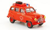 Renault Colorale miniature 4x4 pompiers