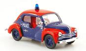 Renault 4CV   police de monaco IXO