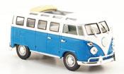 Volkswagen Combi t1 samba blue white 1962