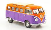 Volkswagen Combi t1 samba lila arancione 1962