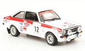Miniature Rallye Ford Escort MK2 No.12 Sieger 1000 Lakes Rally 1976