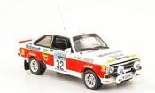 Miniature Rallye Ford Escort MK2 No.32 Lombard RAC Rally 1976