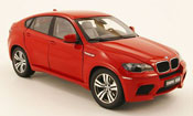 Bmw X6 miniature E71 M rouge