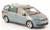 Volkswagen Sharan ii blue 2010