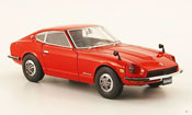 Nissan Fairlady Z miniature S30 rouge RHD