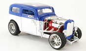 Ford Model A miniature custom blanche/bleu 1931