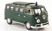 Volkswagen Combi t1 samba police verde