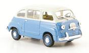 Fiat 600   Multipla blue white 1967 Norev