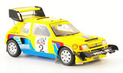 Peugeot 205 miniature Turbo 16 t16 no.2 pikes peak 1987
