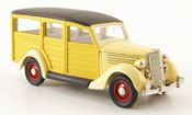Ford 35 Type miniature Station Wagon Woody beige 1935