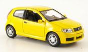 Fiat Punto miniature Sporting jaune