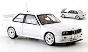Bmw M3 E30  DTM blanche Plain Body Version 1991 Autoart